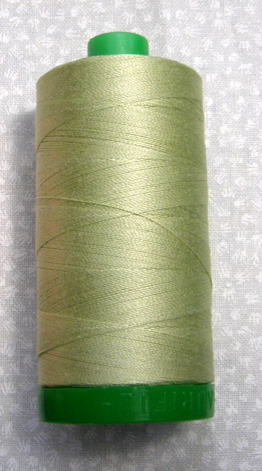 Aurifil avocado green