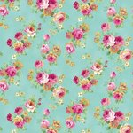 TeaParty pikkuruusut turkoosi