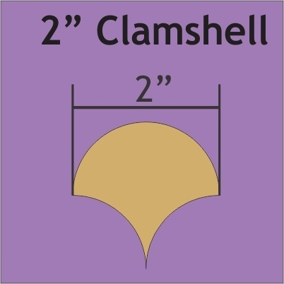 Clamshell 2 ""