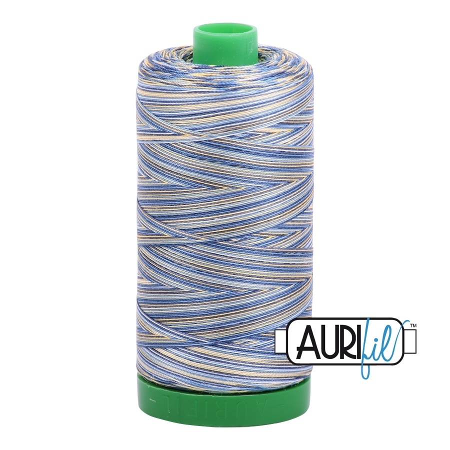 Aurifil vaihtuva - Lemon Blueberry