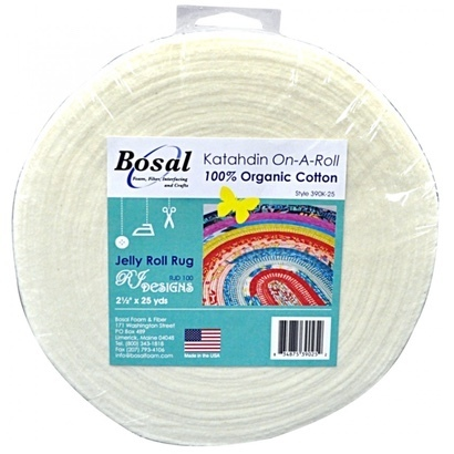 Katahdin On-A-ROll , jelly roll rug