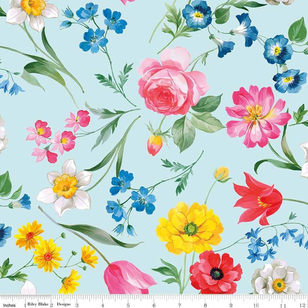 Afternoon Tea - isot kukat