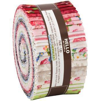 Farmhouse roses jelly roll