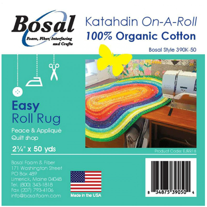 Katahdin On-A-ROll , jelly roll rug wadding big
