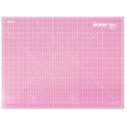 Pink cutting mat