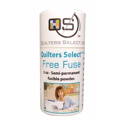 Quilters select Free Fuse Powder