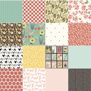 Prairie sisters - fat quarter bundle