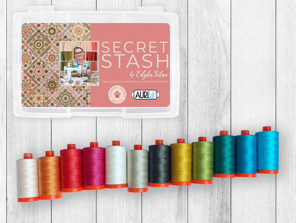 Aurifil box - Secret Stash