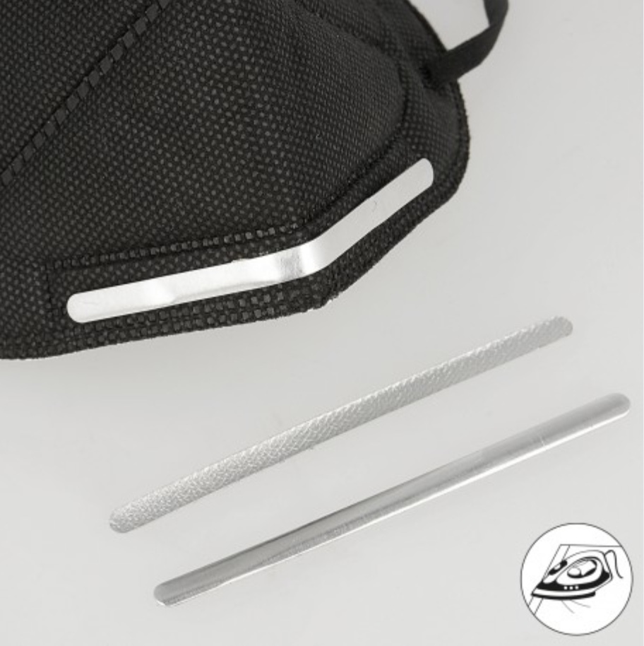 Nose bar for masks - adhesive