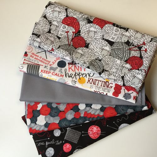 Knitting fabrics - bundle