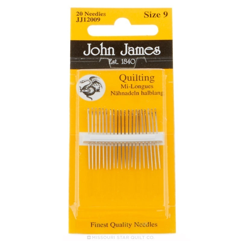 JJ Quilting needles 9