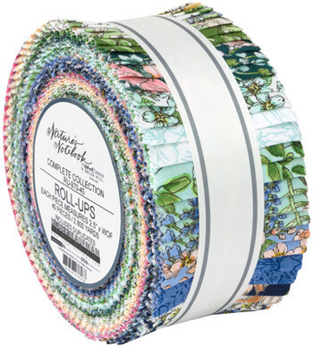 Natures Notebook jelly roll
